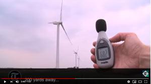 How Noisy is a Wind Farm?
